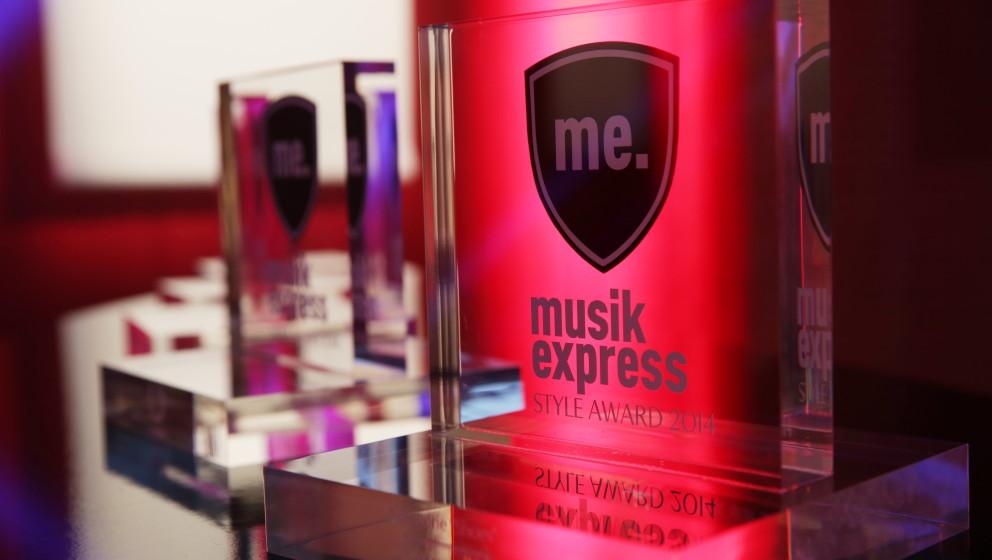 Musikexpress Style-Award 2014, E-Werk Berlin, 15.10.14, Foto: Sebastian Gabsch - www.sega-foto.de - 0176-26487275