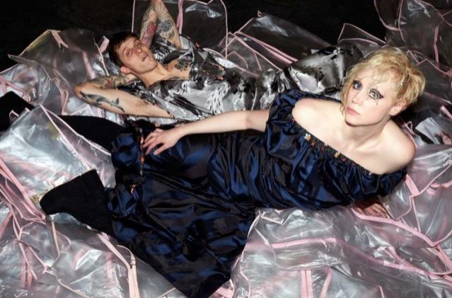 Gwendoline Christie für Westwood, fotografiert von Juergen Teller