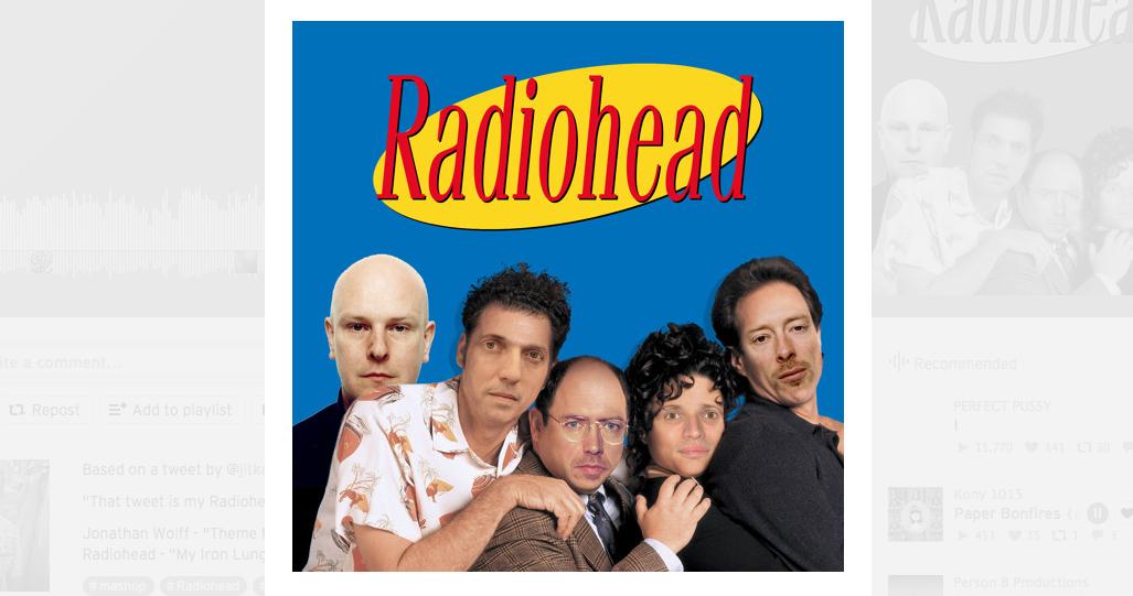 Radiohead und Seinfeld mischen? Kann man machen. Muss man aber nicht.