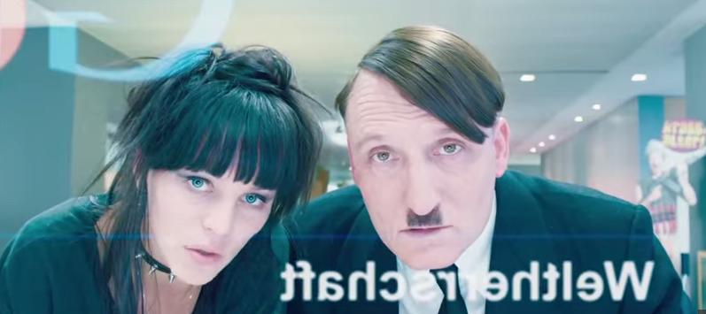"Hitler entdeckt das Internet - und googlet erstmal ""Weltherrschaft""."