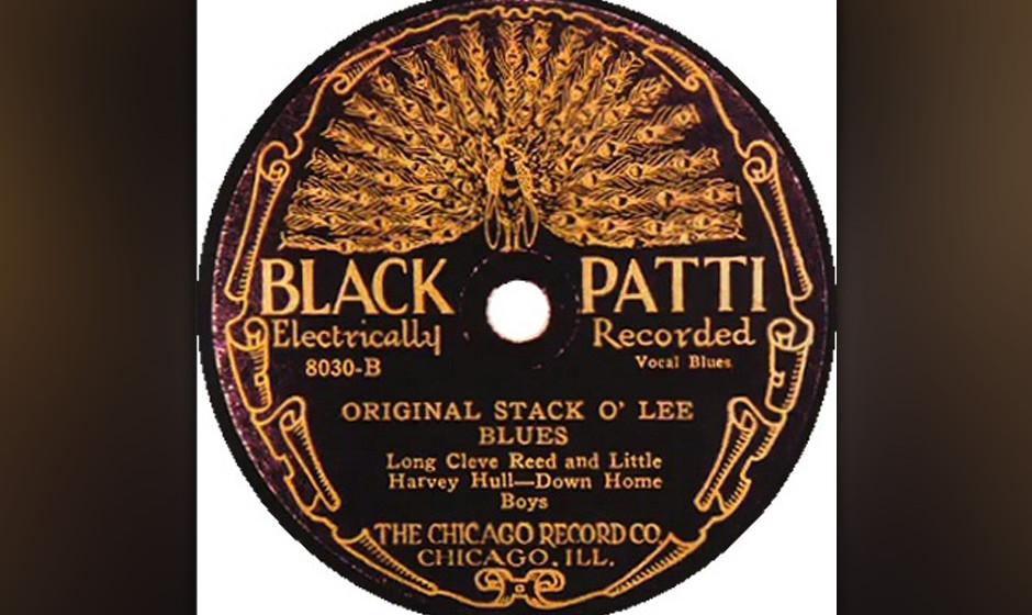 Long Cleve Reed & Little Harvey Hull – Original Stack O'Lee Blues (1927) Das einzige Exemplar dieser 78-rpm-Blues-Raritä