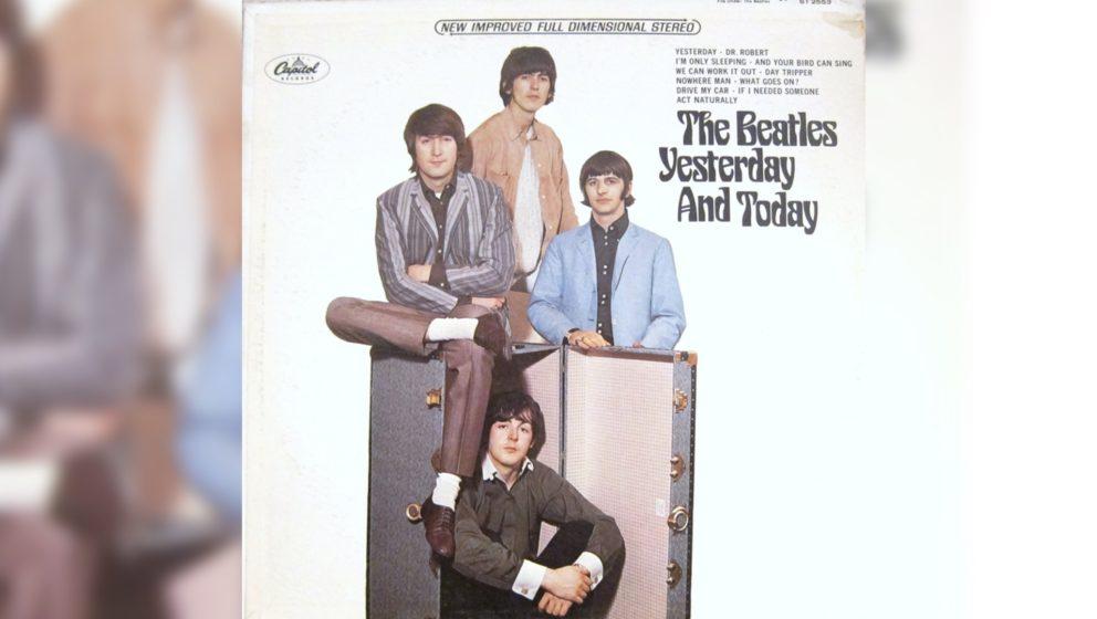 The Beatles – YESTERDAY AND TODAY (1966) Im Februar 2016 erzielte eine originalverpackte Kopie des Albums einen Preis von 1