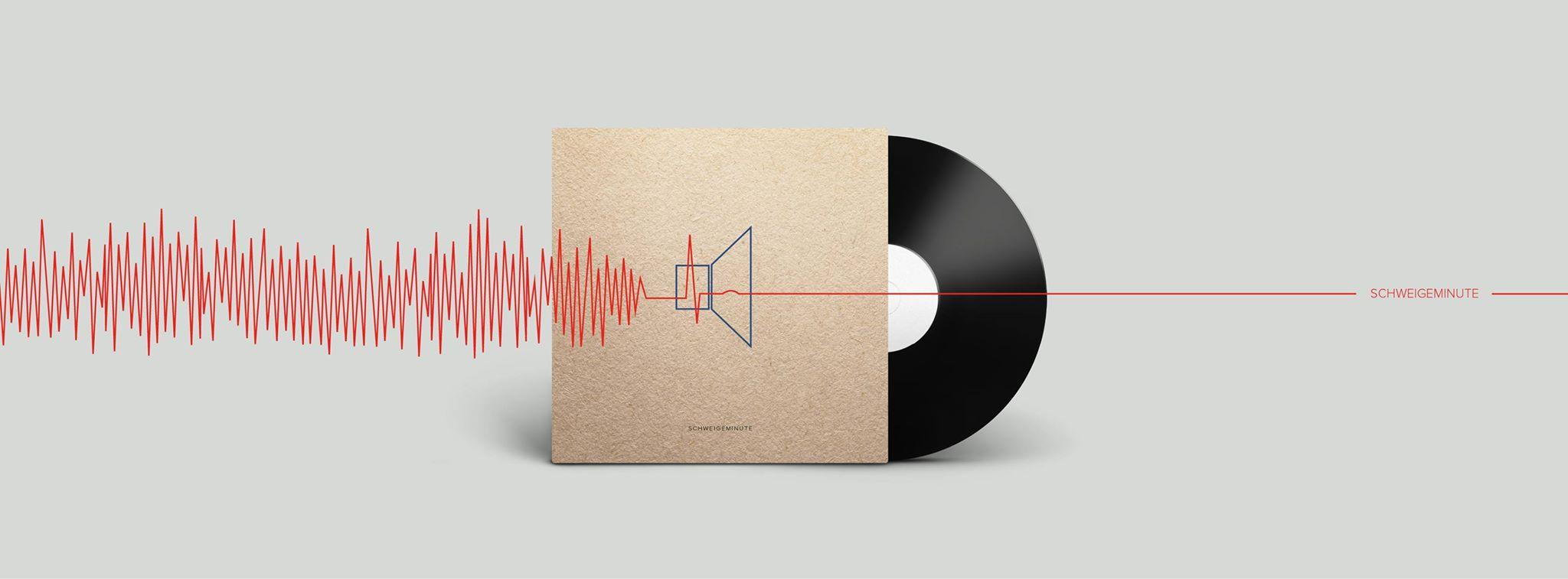 Eine Schweigeminute stürmt die iTunes-Charts.
