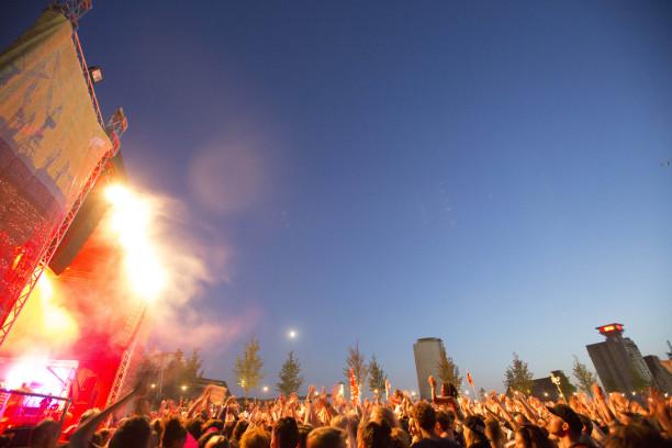 MS Dockville Festival in Hamburg-Wilhelmsburg