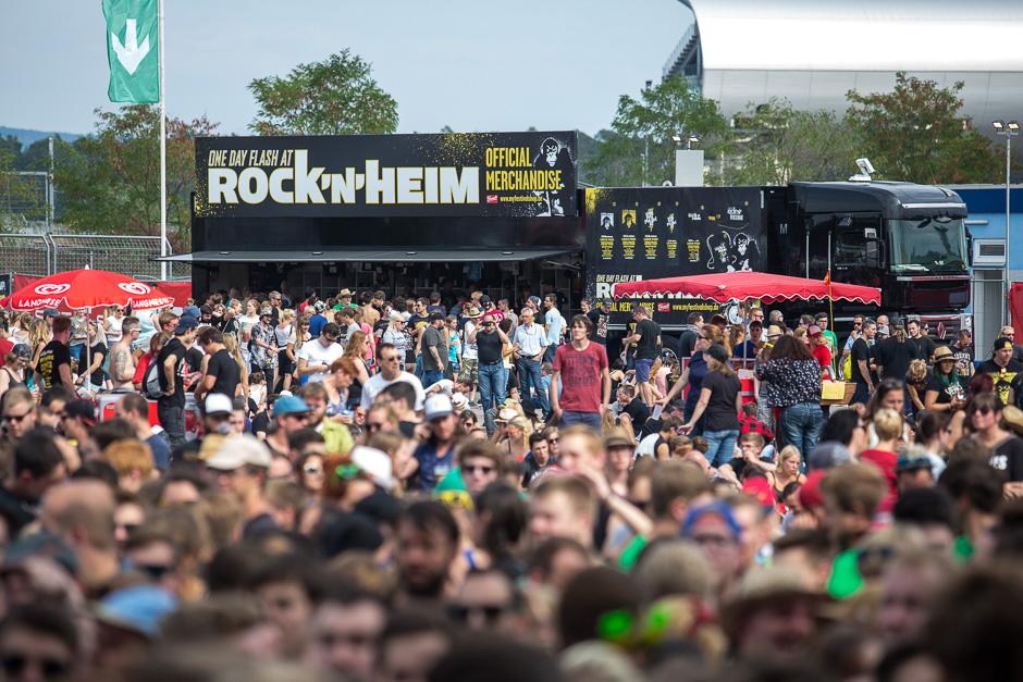 So präsentierte sich am Wochenende das Rock'n'Heim Festival mit Kraftklub, Linkin Park und Co.