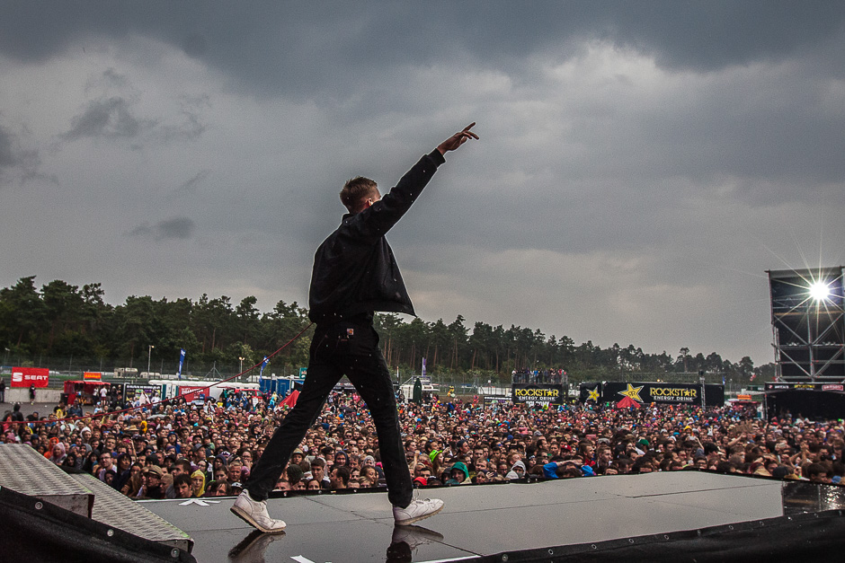 Kraftklub live beim Rock'n'Heim Festival