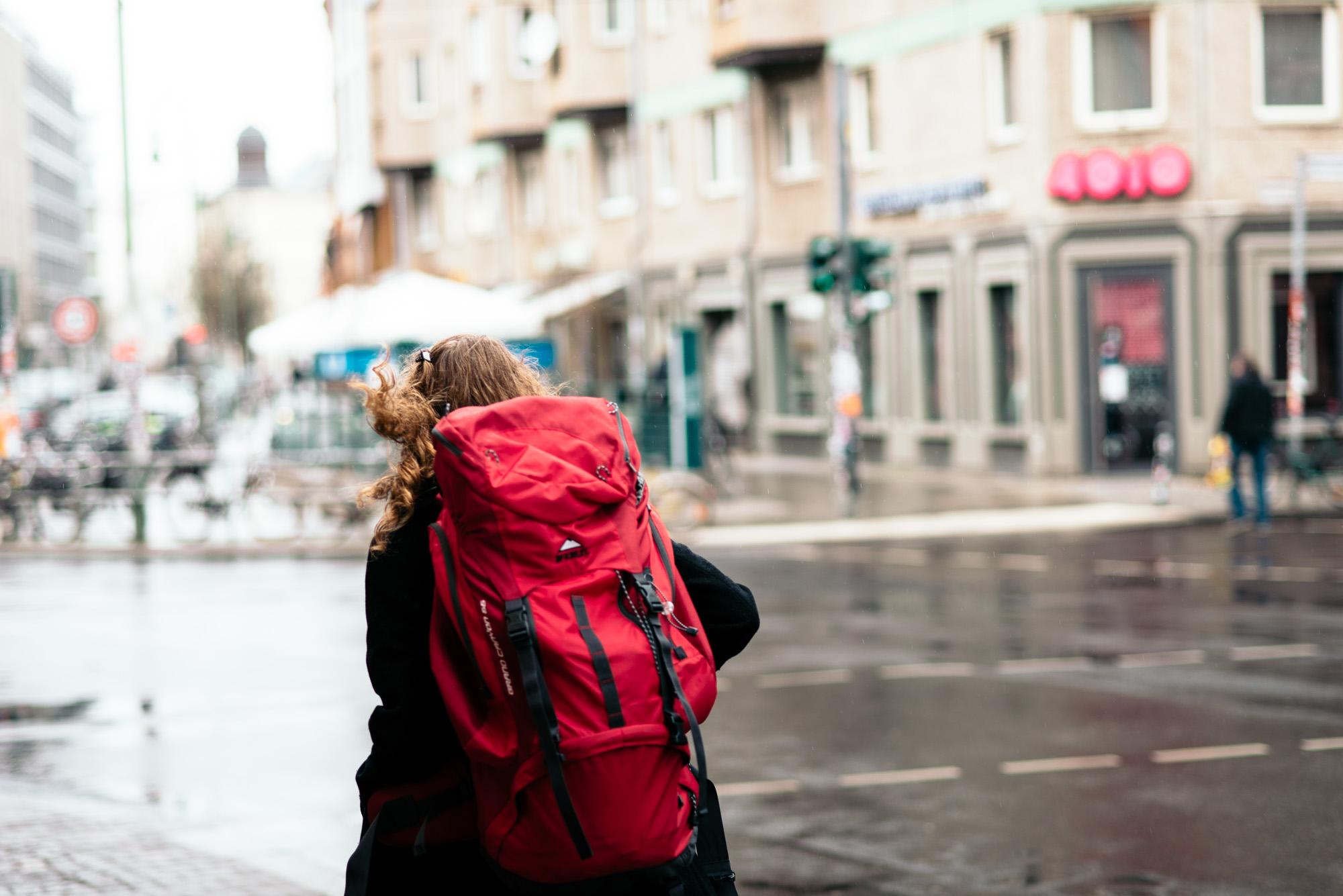 City-Hopping: Aline Fraikin ist Studentin und will sich nicht an einen Ort binden.
