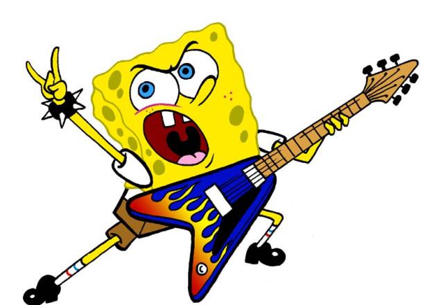 """""""Spongebob Schwammkopf""""- Musical wird mit Songs von Cyndi Lauper, Aerosmith und David Bowie unterlegt."""