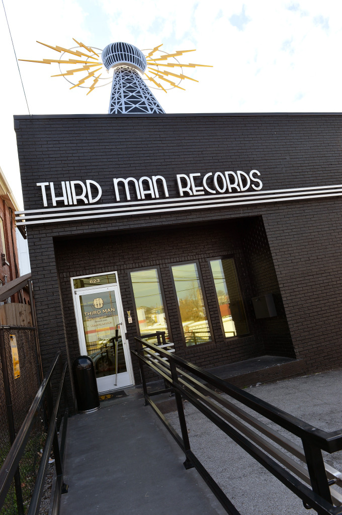 NASHVILLE, TN - MARCH 09:  A general view of Jack White's Third Man Records on March 9, 2013 in Nashville, Tennessee.  (Photo by Rick Diamond/Getty Images)
