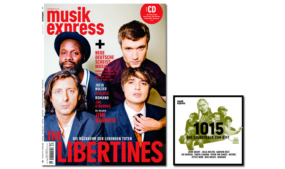 Der neue Musikexpress - vom 10. September 2015 an erhältlich.