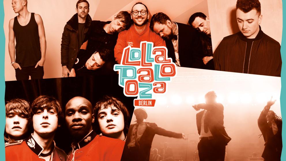 The Libertines, Macklemore & Ryan Lewis u.v.m. stehen auf der Bühne beim Lollapalooza Festival 2015 in Berlin.
