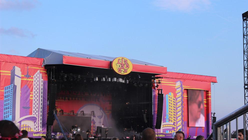 So sah es beim Lollapalooza 2015 in Berlin aus