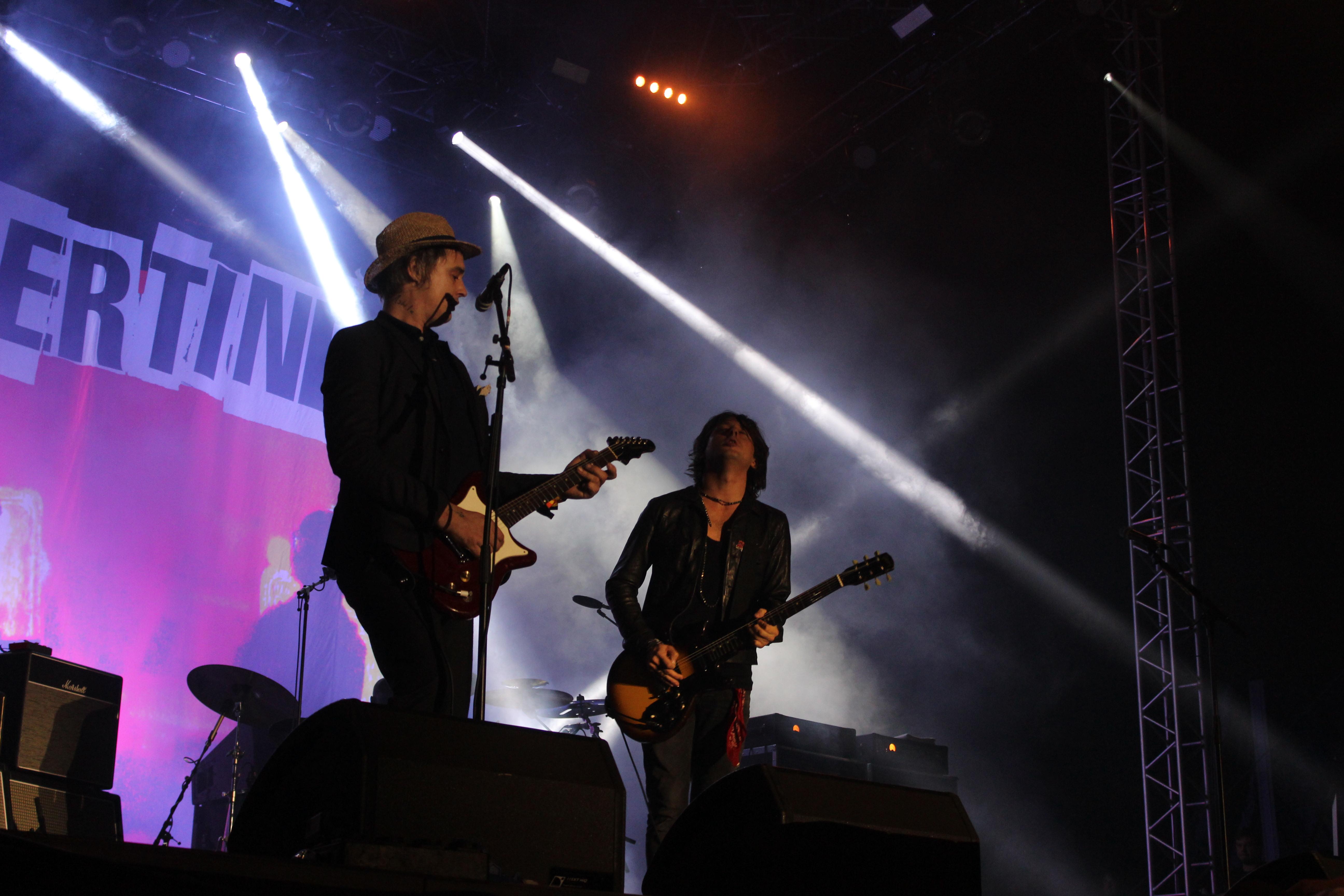 The Libertines live beim Lollapalooza 2015