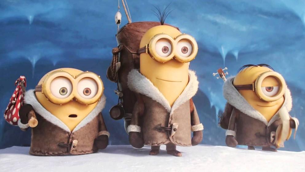 Die Minions auf der Suche nach einem Anführer