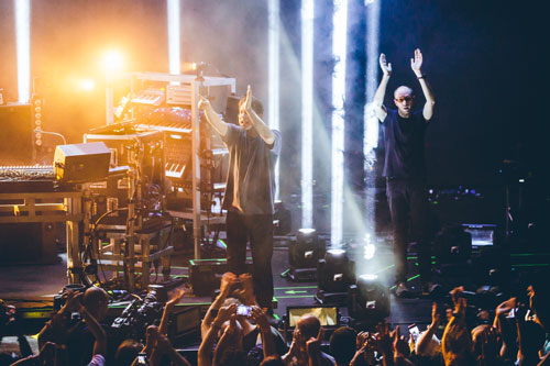 The Chemical Brothers live beim Apple Music Festival 2015