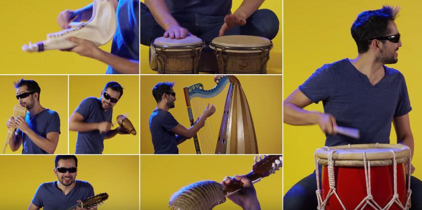 """Bisschen albern: Joe Penna covert """"Misirlou"""" mit etlichen Instrumenten"""