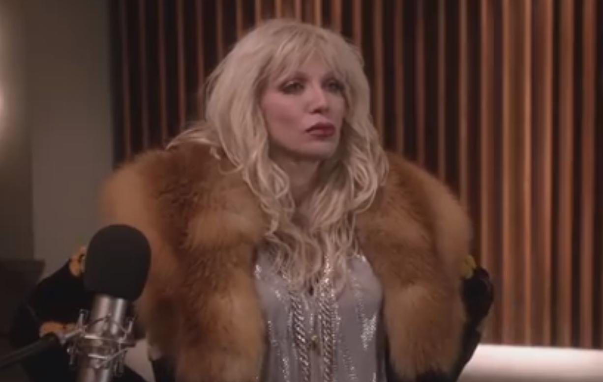 """Coutney Love spielt in der Serie """"Empire"""" eine drogensüchtige Ex-Rockröhre."""