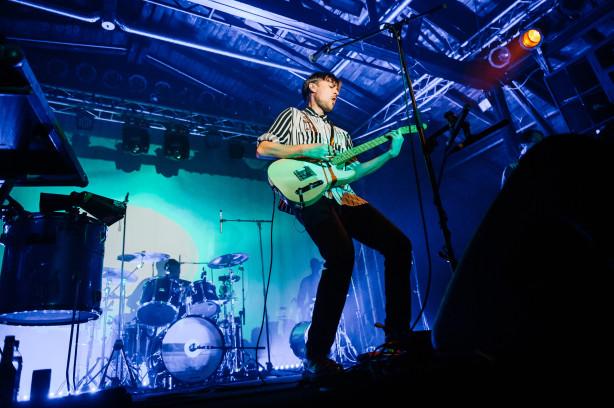 Überzeugende Darbietung: Django Django live in Berlin