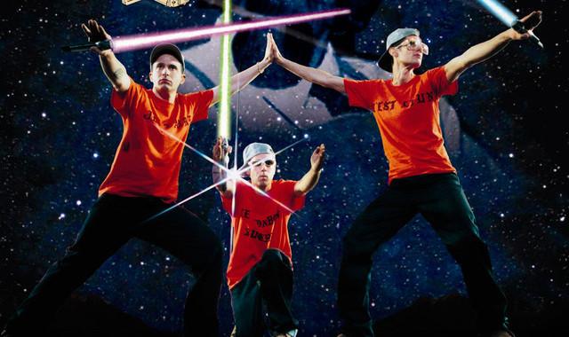 """Offensichtlich """"Star Wars""""-Fans gewesen: Beastie Boys"""