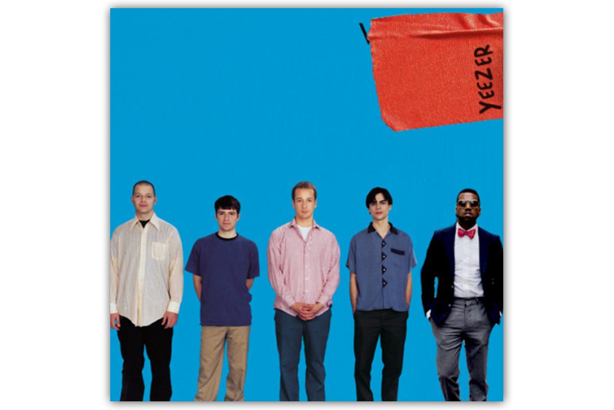 YEEZER - ein Mash-Up-Album aus Songs von Kanye West und Weezer