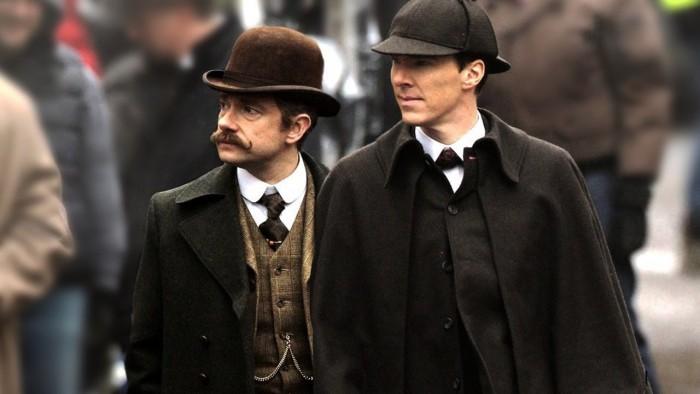"""""""You're Sherlock Holmes - wear the damn hat."""" Watson und sein Chef Holmes sind zurück."""