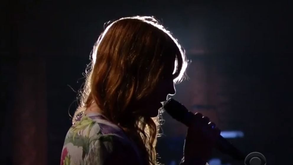 """Florence Welch zu Gast bei """"The Late Show"""""""