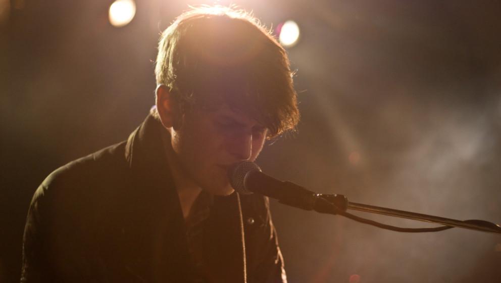 James Blake, ein Jahr vor seinem Sieg beim ME-Pop-Poll.