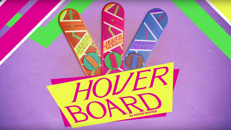 """Das Hoverboard aus """"Zurück in die Zukunft"""" - wer würde nicht gerne auch eins haben?"""