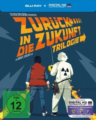 """""""Zurück in die Zukunft - Trilogie/30th Anniversary"""" auf Blu-ray"""