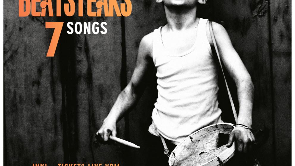 """Die Beatsteaks-EP """"7 Songs"""" liegt exklusiv der November-Ausgabe des Musikexpress bei. Darin erklärt Bassist Torsten Scho"""