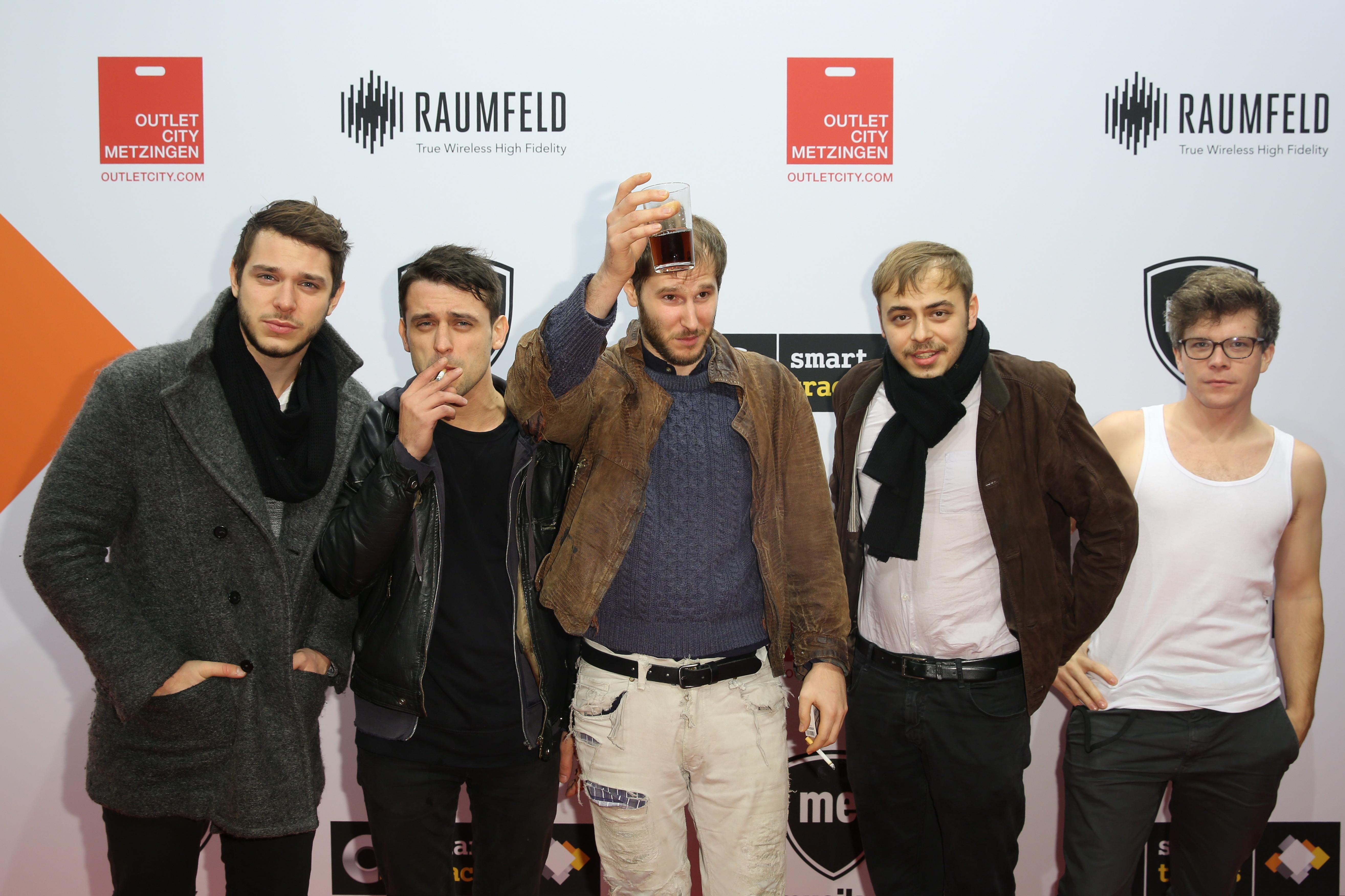 Wanda (Band) - Musik Express Style Award 2015 - Foto: Sebastian Gabsch