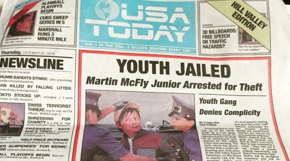 """Die Ausgabe der """"USA Today"""" vom 22. Oktober hat für Verwirrung gesorgt"""