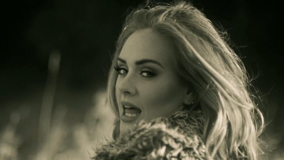 Adele ist im Mai 2016 in Deutschland.