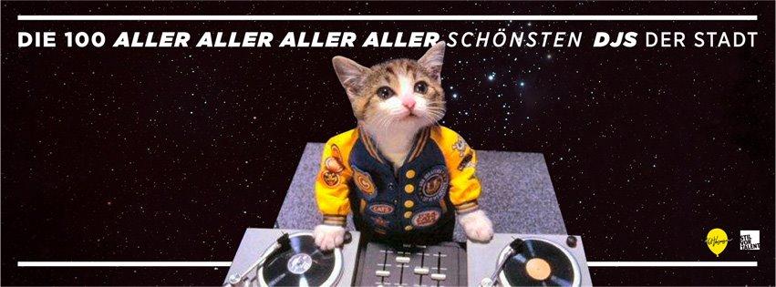 Das kann was werden: 100 DJs an einem Abend!