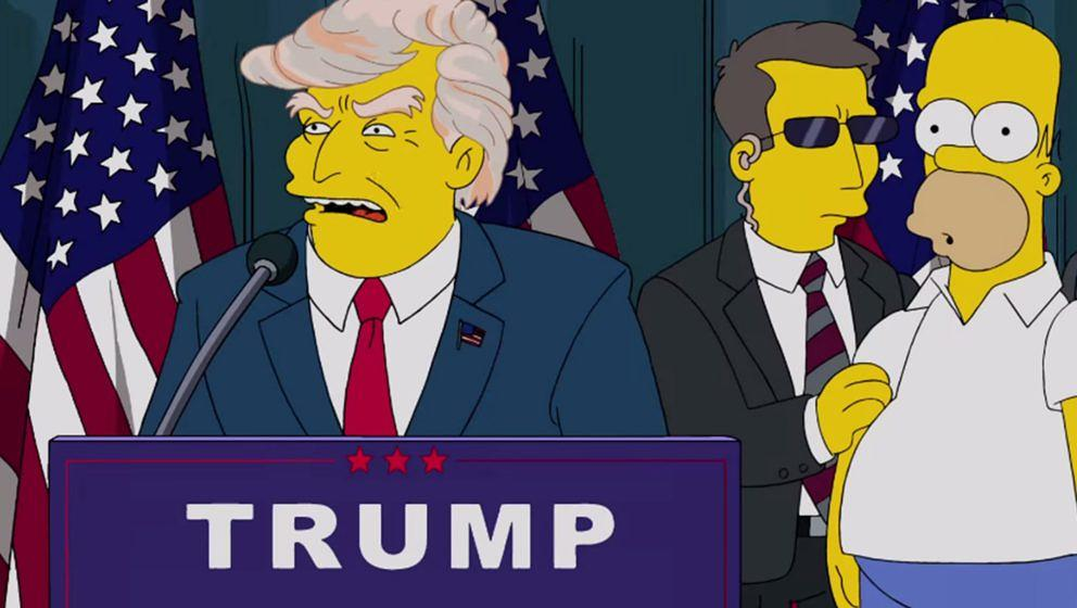 Donald Trump bei den Simpsons