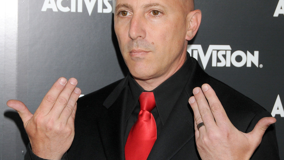 LOS ANGELES, CA - JUNE 14: Maynard James Keenan arrives at Activision's E3 2010 Preview Event on June 14, 2010 at Staples Cen