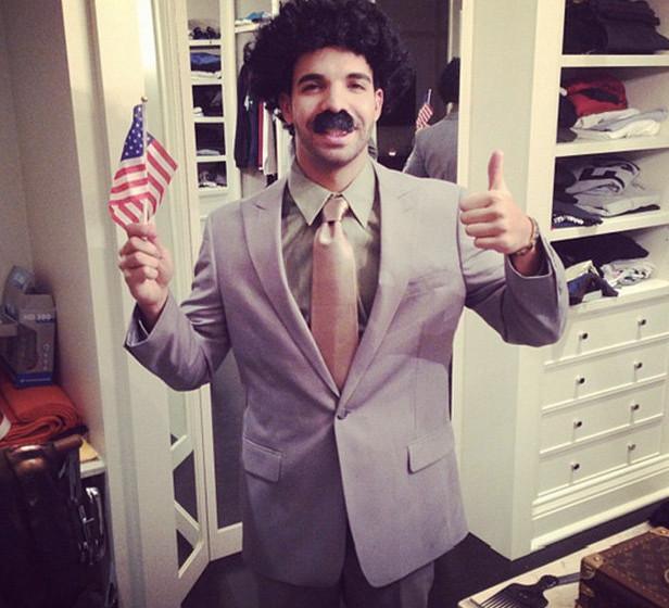 Drake als Borat