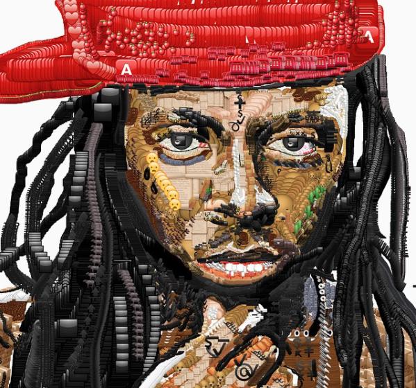 Rapper Lil Wayne