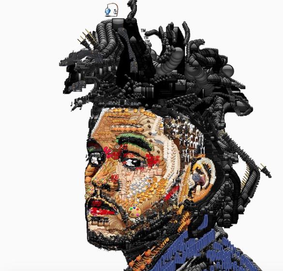 Rapper The Weeknd