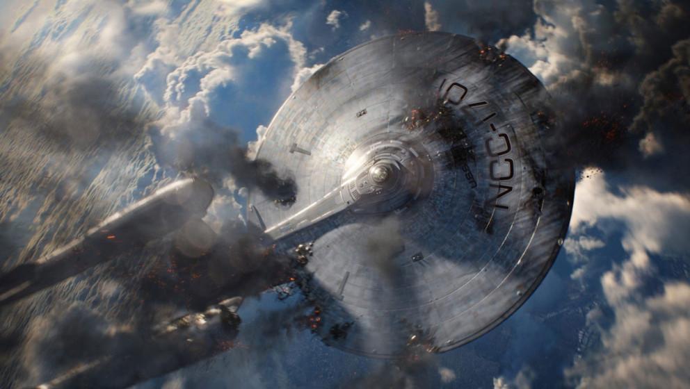 """Die Enterprise stürzt ab: Szene aus """"Star Trek Into Darkness"""""""