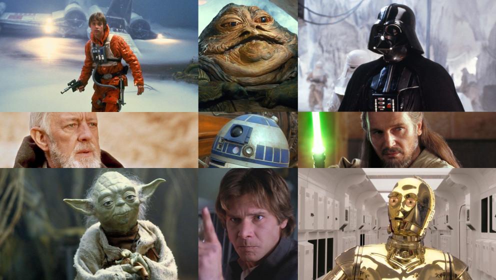 """Wir haben die 20 wichtigsten Charaktere aus dem """"Star Wars""""-Universum zusammengefasst."""