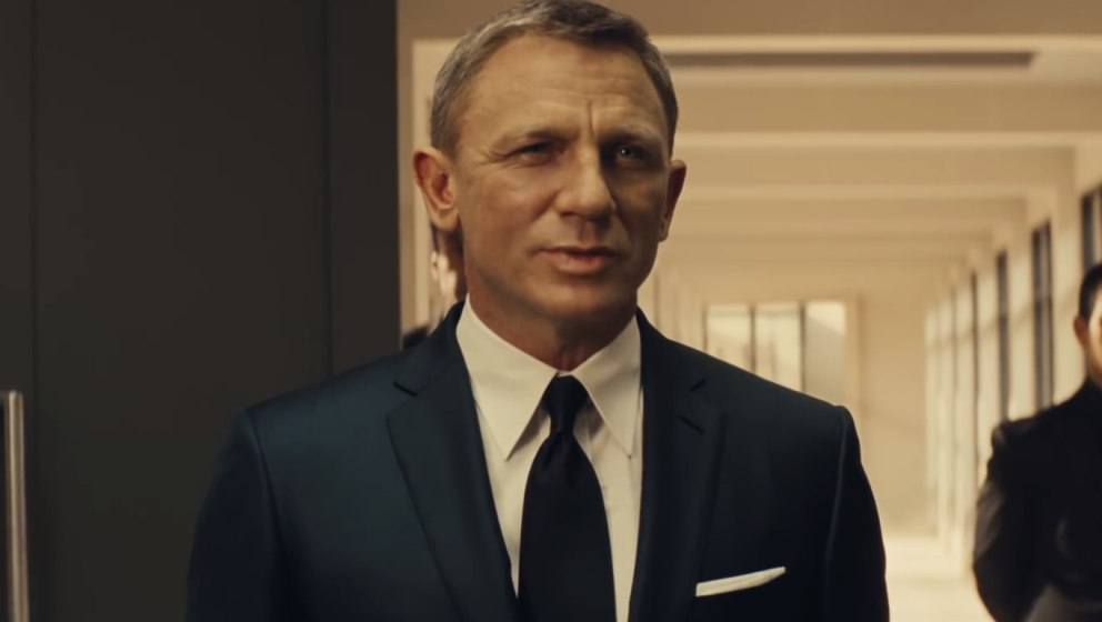 "Daniel Craig als James Bond in ""Spectre"""