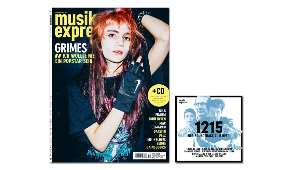 Die Dezember-Ausgabe des Musikexpress - ab dem 12. November am Kiosk. So sieht er von innen aus: