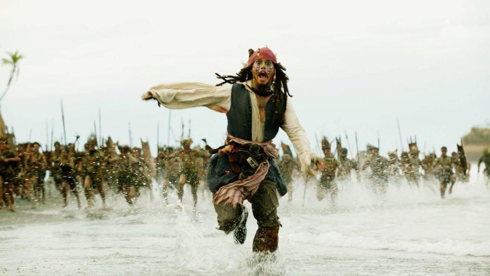 PIRATES OF THE CARIBBEAN - FLUCH DER KARIBIK 2 / Pirates of the Caribbean - Dead Man's Chest USA 2006 / Gore Verbinski  Jack