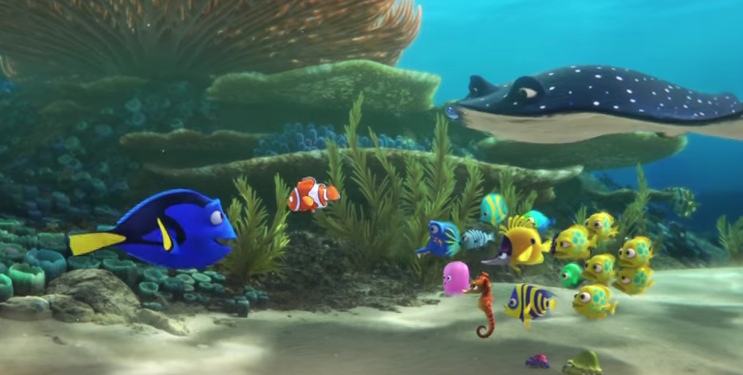 disney und pixar zeigen trailer zum findet nemo sequel findet dorie. Black Bedroom Furniture Sets. Home Design Ideas