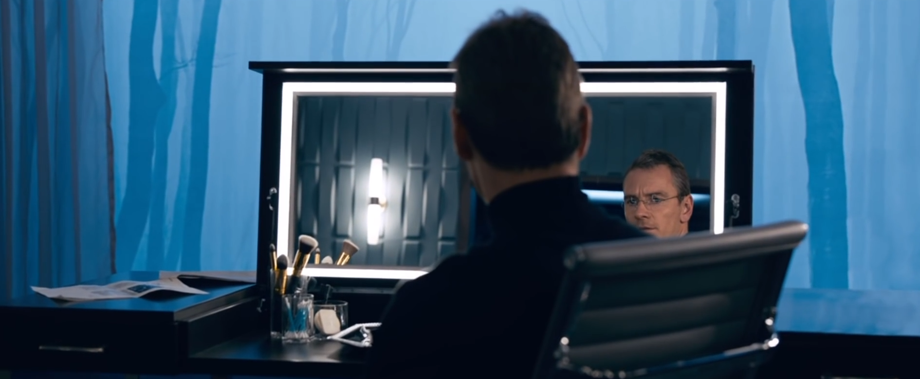 "Michael Fassbender spielt in ""Steve Jobs"" den Apple-Gründer."