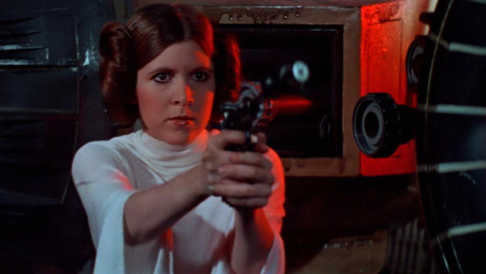 """So wie hier in einer Szene aus """"Episode IV - Eine neue Hoffnung"""" werden wir Leia im neuen """"Star Wars""""-Film wohl nicht"""