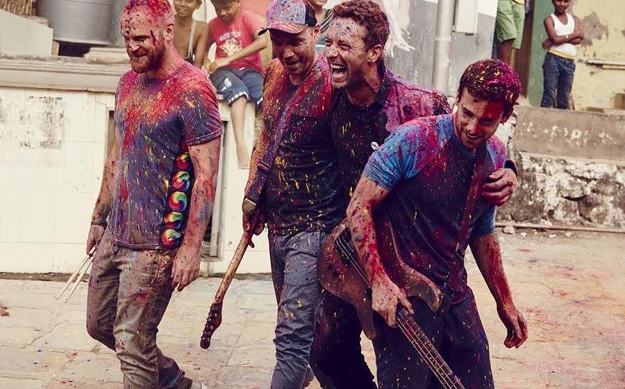 Coldplay ist Liebe, Coldplay ist Lachen. Sagen ihre Fans.