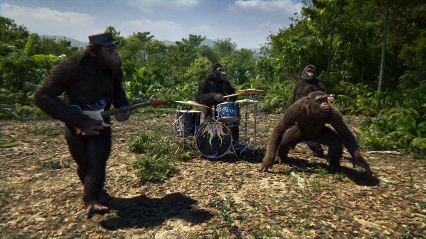 Affen Musikvideo