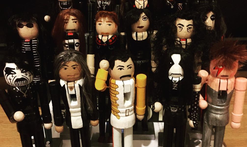 Alle versammelt: Lemmy, David, Keith und Co.